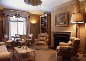 Frances Elkins inspired room and custom furniture
